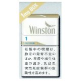 ウィンストン・キャスター・ホワイト・ワン・ボックス