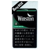 ウィンストン・イナズマ・メンソール・8・ボックス