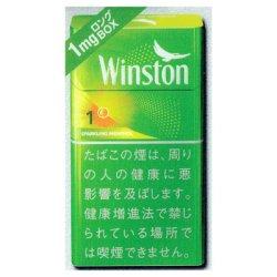 画像1: ウィンストン・スパークリングメンソール・ワン・100's・ボックス